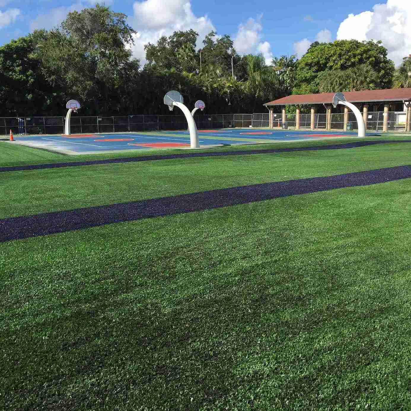 Sunset Elementary School Artificial Turf. Civil Engineering Project