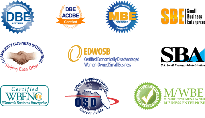 Eastern Engineering Group Government Issued Certifications